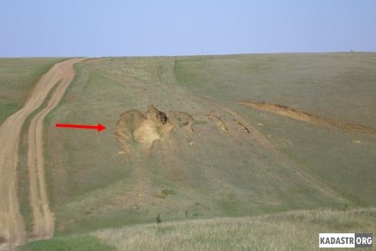 Проявления водной эрозии в следствии антропогенного воздействия (дорога на мыс Хобой)