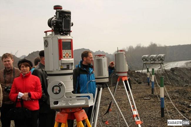 Испытание лазерного сканера Riegl VZ-4000 на Барзасском разрезе
