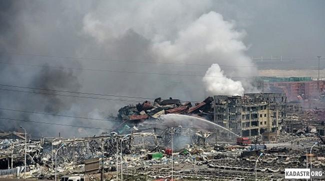 Техногенная катастрофа в городе Тяньцзинь (2015 год)