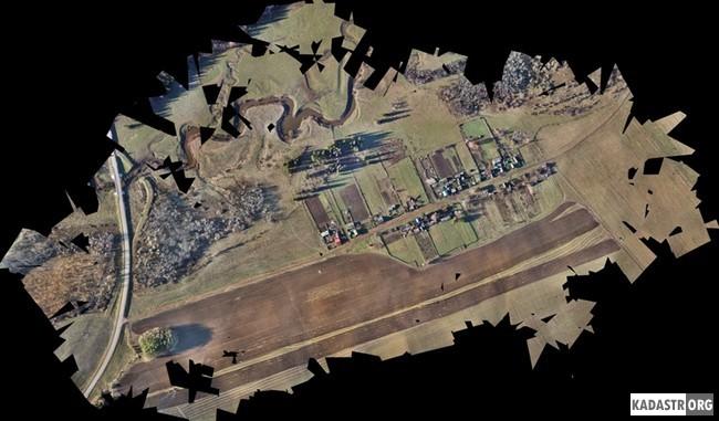 Результаты съемки, обработанные в программе PhotoScan