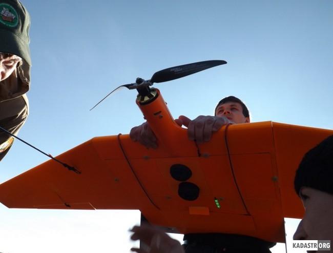 Использование беспилотного летательного аппарата SuperCam - S250F на кафедре