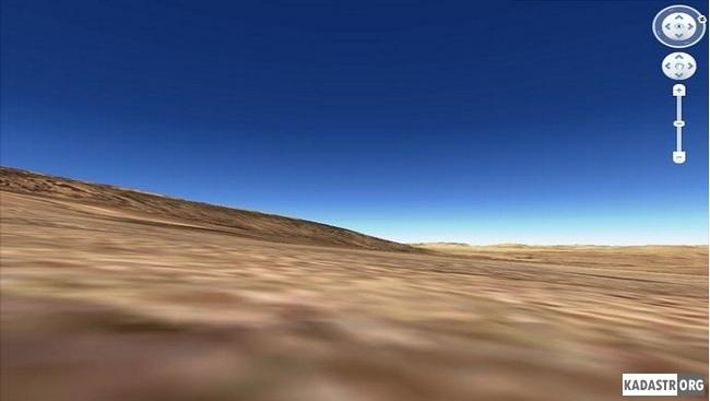 Трехмерное представление рельефа земельного участка