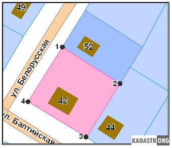 Фрагменты кадастрового плана г. Кемерово
